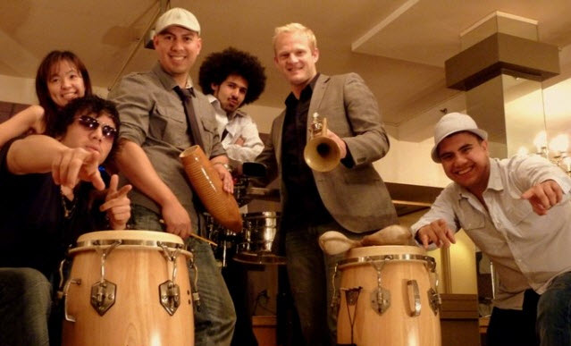 Bring your dancing shoes for Mazacote - the 6-piece Latin band